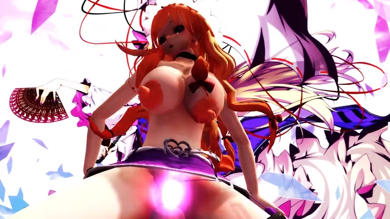 3d mmd girls eiji and her big breasts 1